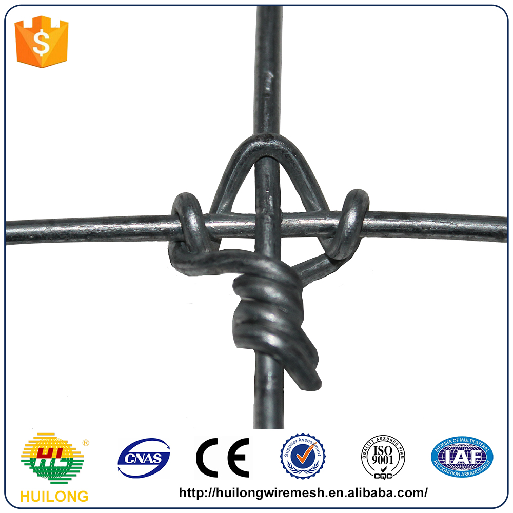 Australian Marketing Fixed Knot Woven Wire Fence Factory Direct
