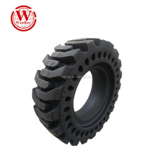 cheap china alibaba bobcat snow rim solid tyres 10-16.5