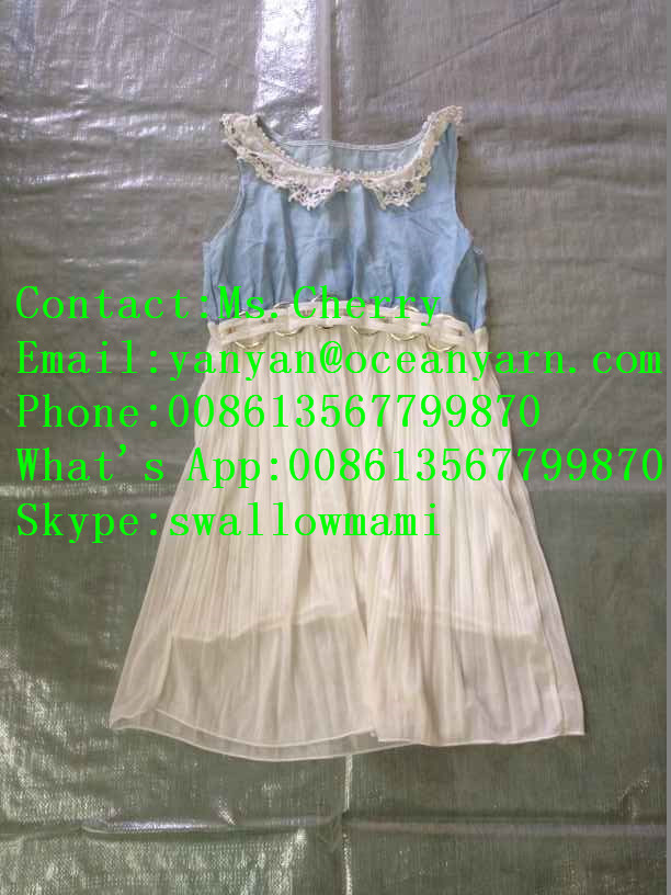 Summer Season used clothes hot Wholesale Used Clothes for Africa