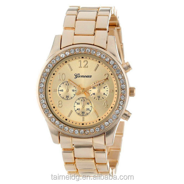 Alibaba wholesale women watches rose gold