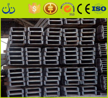 Hot selling iron steel hot rolled dipped ms black u channel steel prime size in china