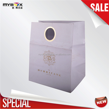 White luxury special best selling elegant gift paper shopping pp handle special paper bag new Nov0301