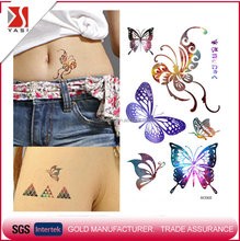 Competitive Price non-toxic waterproof colorful temporary tattoo designs