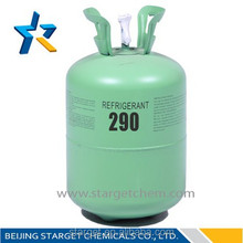high purity refrigerant propane r290 for air conditioning