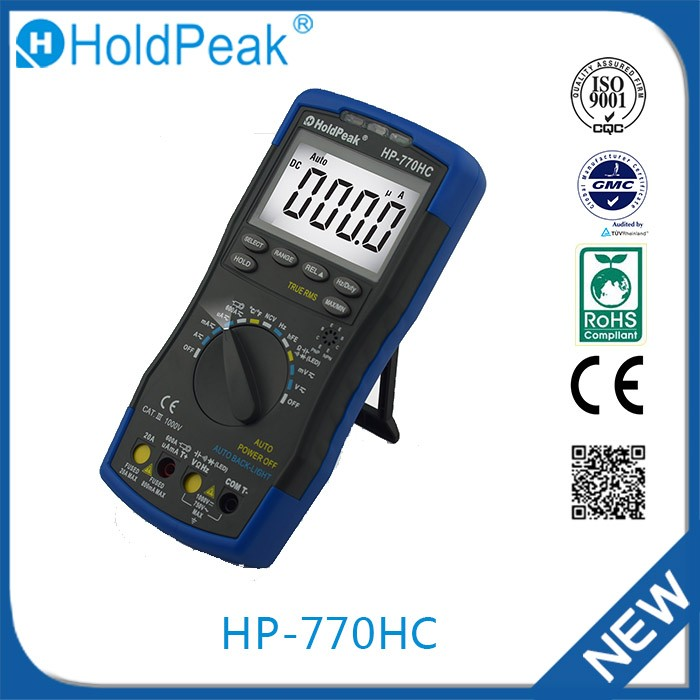 HP-770HC Wholesale china import true rms digital multimeters
