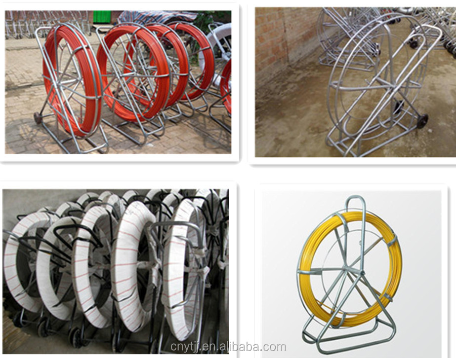 Fiberglass Duct Rodder/FRP Conduit Snake Duct Rod