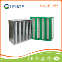 Factory Supply V-Bank HVAC Filters HEPA Air Filter