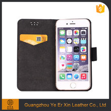 Best customized flip mobile phone leather case for iphone 6 6s 7 plus