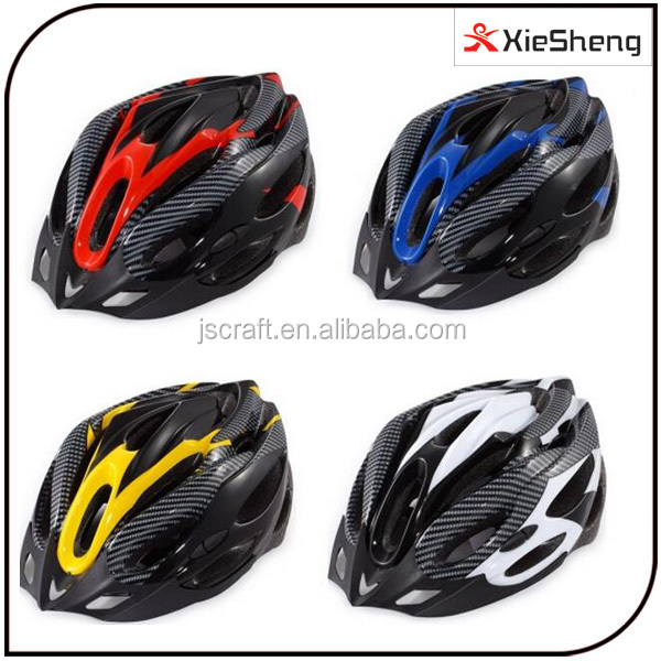 4 color carbon protection crash unique design safety ONE STEP technology EPS material in-mold bicycle helmet