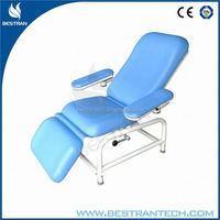 BT-DN008 China manufacturer CE ISO reclining mechanical hospital motorized blood donation chair