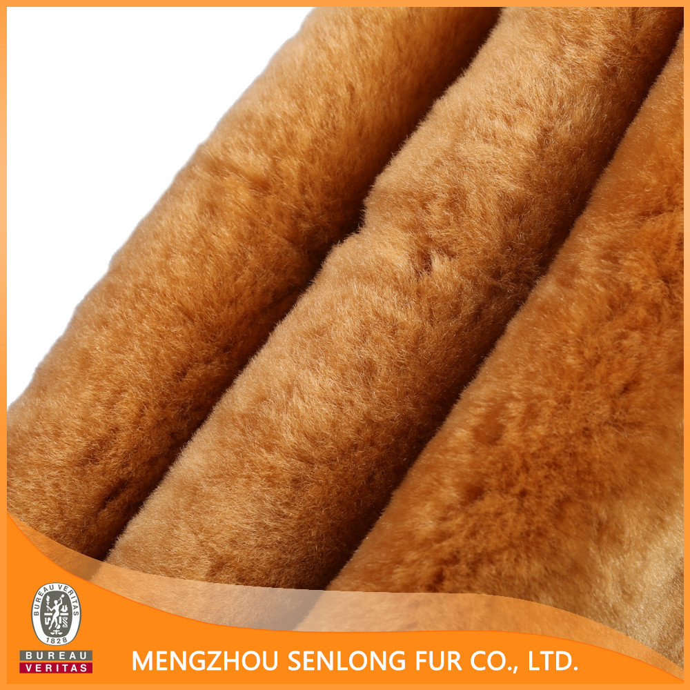 More environmentally friendly real fur skin for baby products
