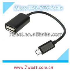 2014 New Product Micro USB OTG Cable for Samsung Galaxy S2 S3 i9300 i9100 Note N7000 i9220 E2018