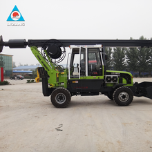 top factory price wheeled rotary drilling rig machine for digging a hole