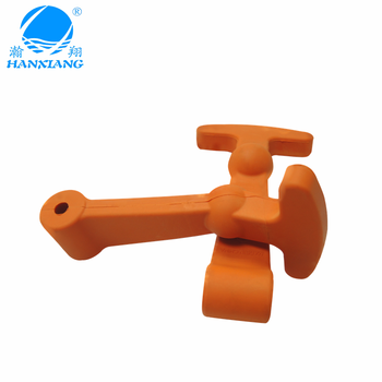 customize high quality T shape rubber latch / tool box latch