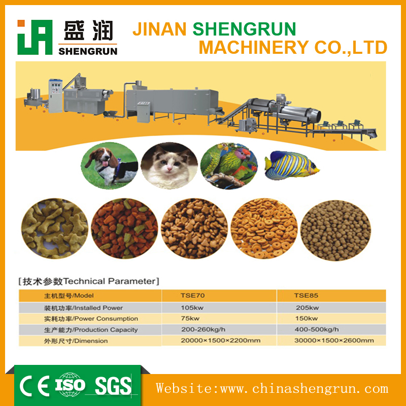 cost-effective Equipments for Production Food for Dogs, Cat, etc