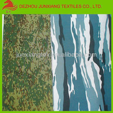 Camouflage printed Polyester/viscoce fabric