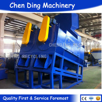 the best selling used plastic washing recycling line