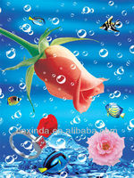 Top quality 3d pictures of beautiful flowers for decor