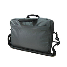Black Color OEM Microfiber Business Bag Briefcase For Man