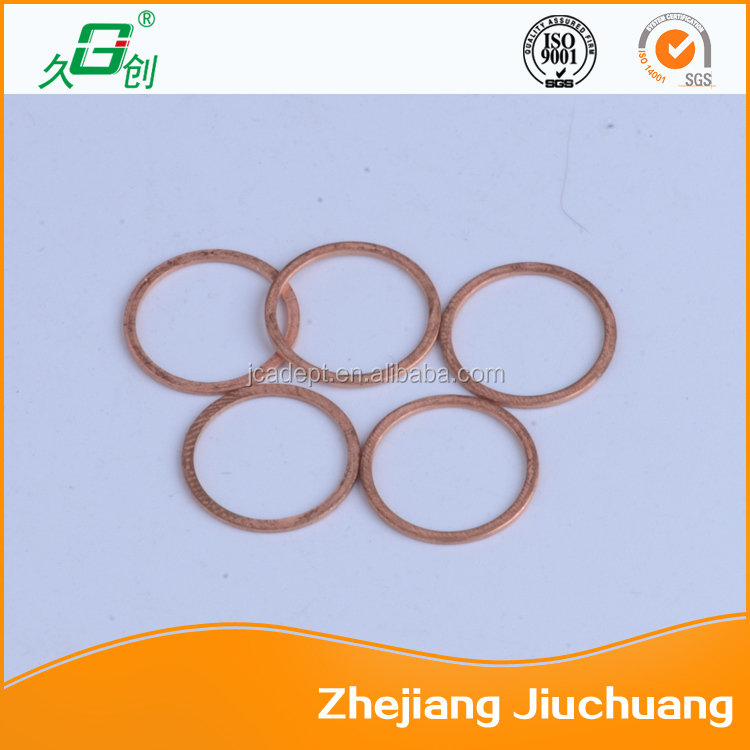 Competitive price copper ring joint gasket