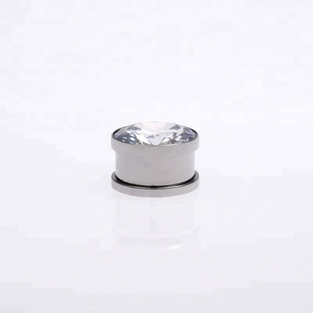 New arrival gauge top crystal ear flesh tunnel piercing jewelry