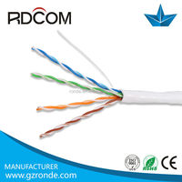 High Performance cat5e utp cable 4p lan cable