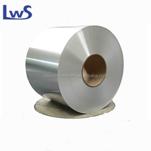 Jumbo roll plaine silver color unprinted food packaging aluminium foil