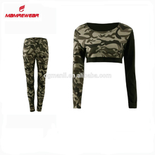 Sexy Women's Sport Gym Yoga Vest Bra Legging Pants, Ladies Outfit Fitness Yoga Wear Sample Set