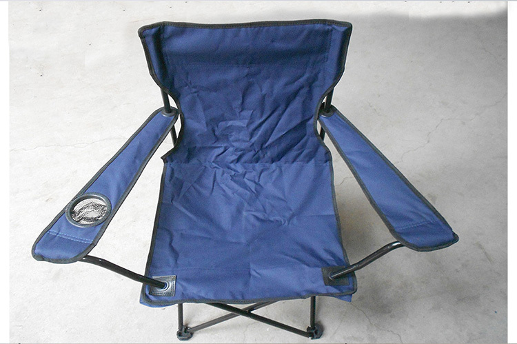 Best price folding camping chair alumium frame with cup holder