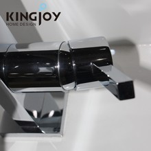 shower bath Big Waterfall Chrome Brass Bathroom Basin Faucet Widespread Vanity Sink Mixer Hot Sale