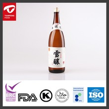 Japanese sake manufacturer with over 10 years experience and reliable quality