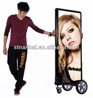 J2B-426 View hot & popular products LED slim battery operated display portable display with internal LED