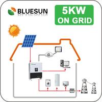 Grid system 5kwatt solar power station for global market