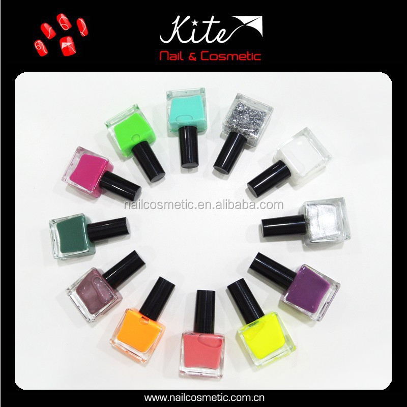 12ml China wholesale luxury glossy water based nail polish