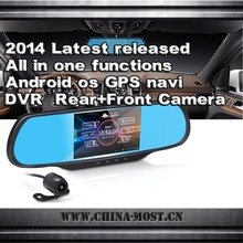 Android hd dvr car gps de navegación con reproductor de mp3