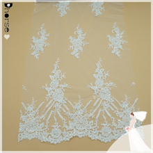 Wholesale custome vintage wedding embroidery lace fabric DH-BF738