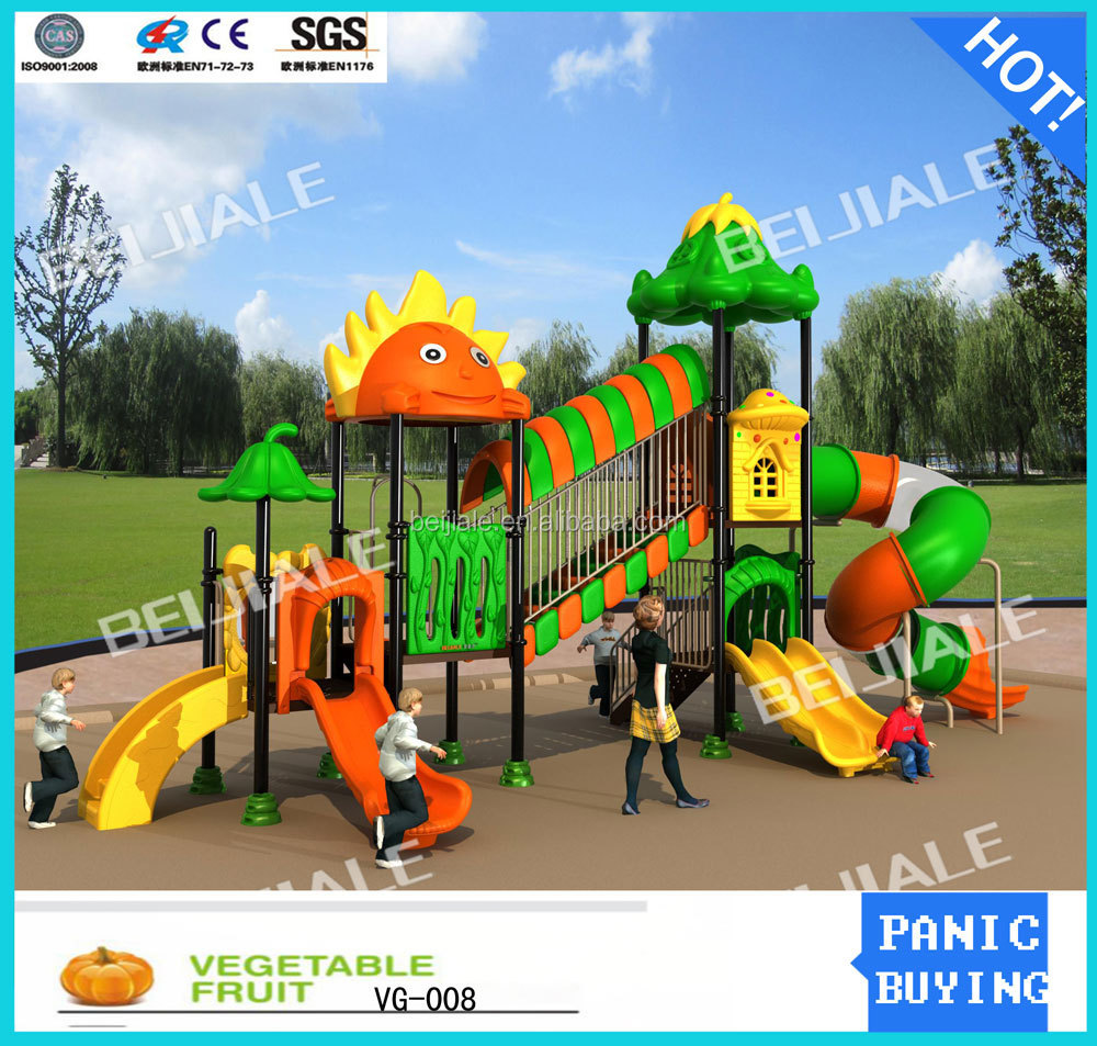 China Outdoor Sunny Park Playground Equipment For Kids Park