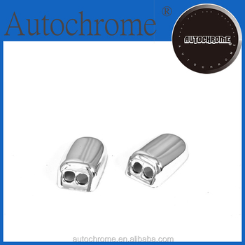 Factory price auto parts car part chrome windshield washer nozzle cap - for F ord F iesta 08-09