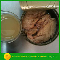 Tuna tin packing 170G/185G in vegetable oil/brine
