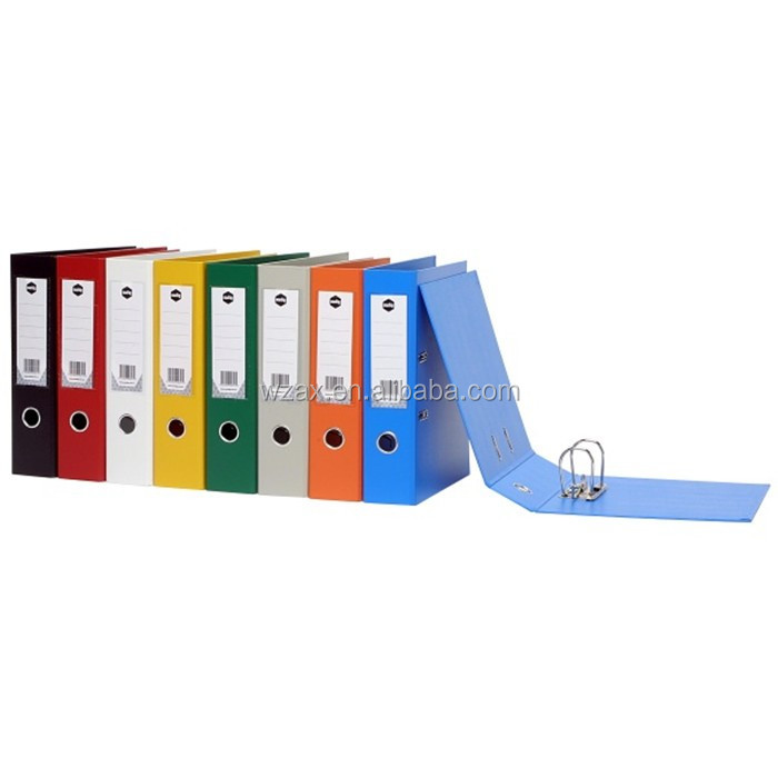 Wholesale PVC laminated clip folder A4 cardboard lever arch file folder