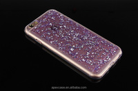 New Style Clear Glitter Paillette TPU Case for Samsung j5 Case