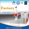 portable mini fiber laser marking machine for LED light bulbs