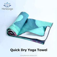 Custom Sublimation Print Microfiber Beach Yoga Towel