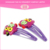 Cute owl animals shape various custom design resin magnetic barrette hair clip