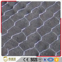 The lowest price for galvanized / PVC coated welded hexagonal rabbit cage wire mesh