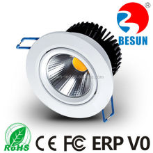 CE ROHS ERP listed downlights 6watt mini led downlight PE>87% quality spot lights