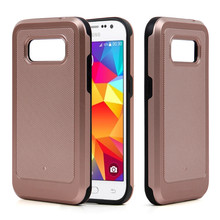 Alibaba hybrid shockproof back cover for Samsung I9600 drill god combo case