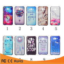 Wholesale price in china colors paint plastic waterproof back cover case for samsung galaxy j5