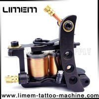 2016 Tattoo Liner 12 coil wrap tattoo machine Gun iron tattoo machine