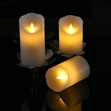 water proof blinking function led grave religious candle,memorial led grave light